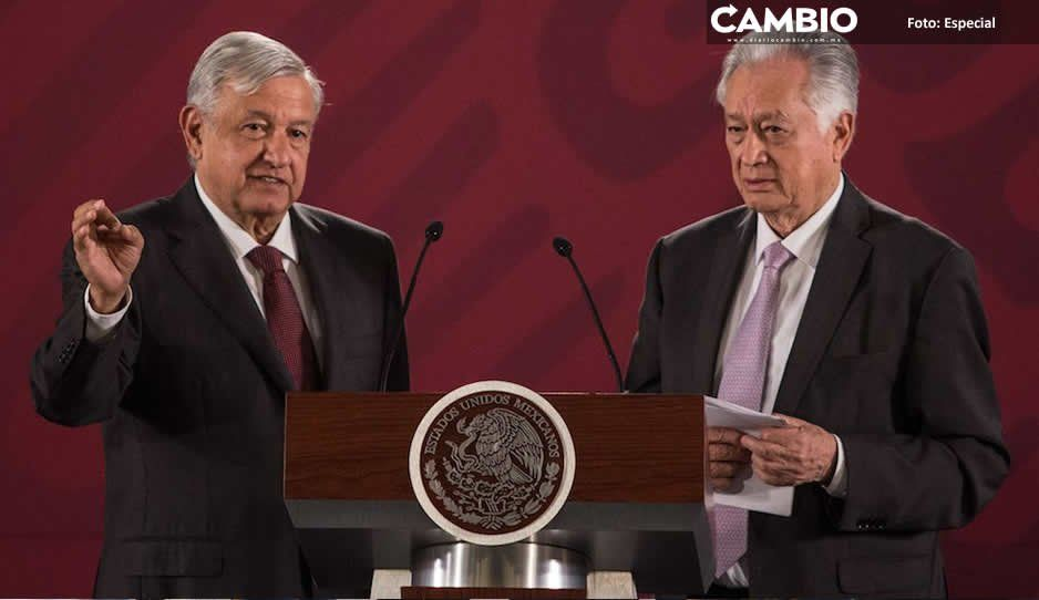 AMLO sale en defensa de Bartlett por multipropiedades que le imputa Loret