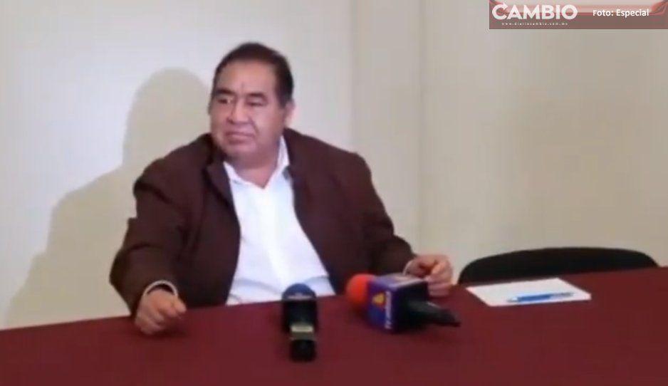 Grupos políticos están detrás de cierres carreteros y protestas: Edil de Amozoc