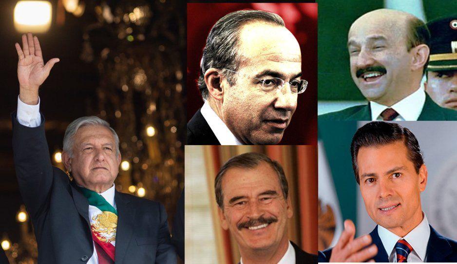 AMLO perdona denuncias contra expresidentes de México: mi fuerte no es la venganza