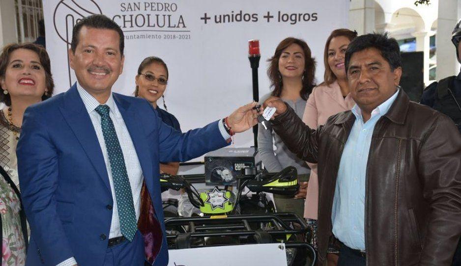 Anuncia Luis Alberto Arriaga mayor infraestructura en juntas auxiliares de San Pedro