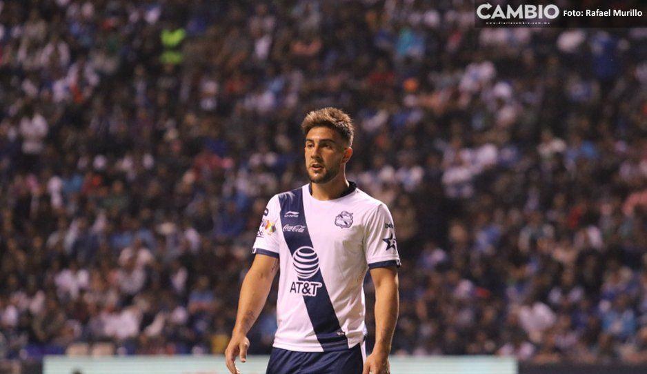 Cavallini tiene un pie fuera del Club Puebla: Cruz Azul y Atlas le coquetean