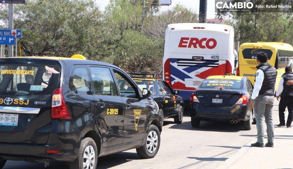 Grúas y taxis no se salvan de operativos; deben cumplir acuerdo de modernización