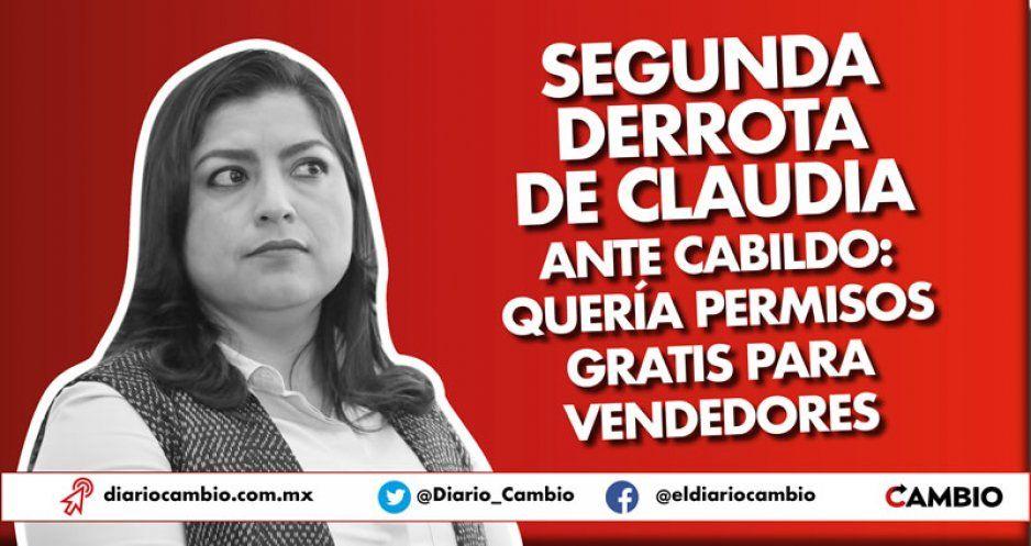 Segunda derrota de Claudia ante Cabildo: quería permisos gratis para vendedores