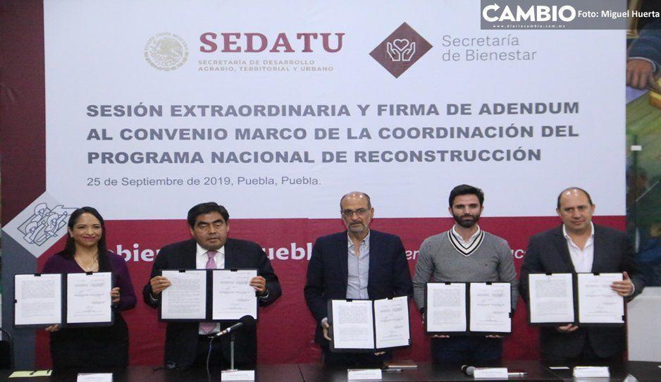 Barbosa anuncia auditoría general a las obras de Gali por reconstrucción del 19-S