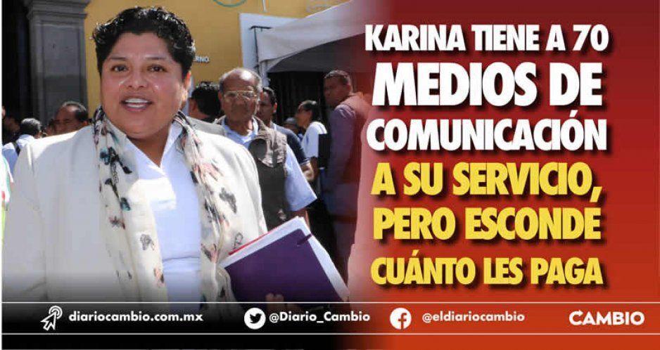 Karina Pérez Popoca hace acuerdo con 70 medios y esconde montos
