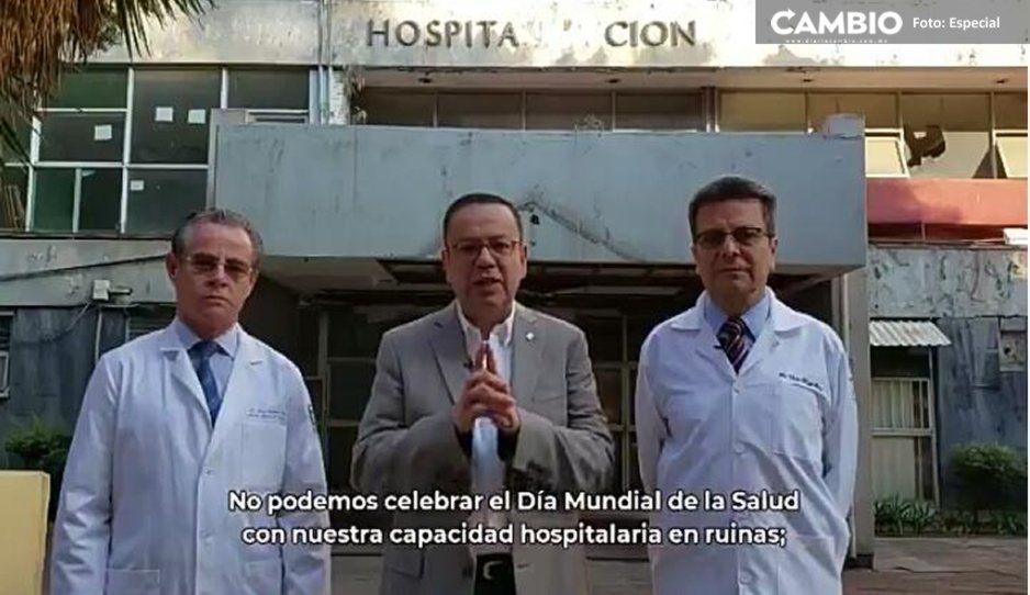 Anuncia IMSS inicio de reconstrucción de hospitales afectados por el 19S