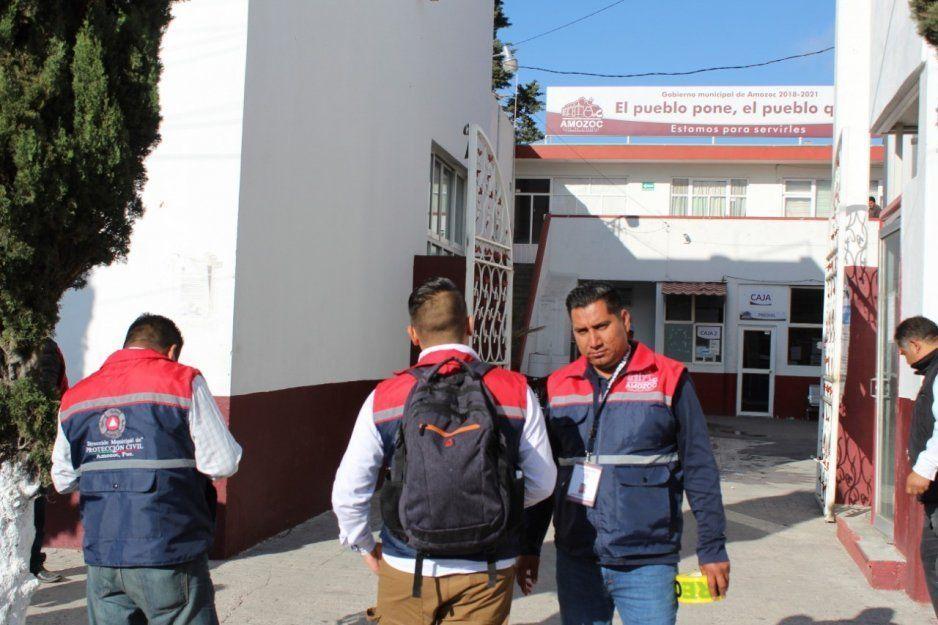 Restablecen servicios en la presidencia municipal de Amozoc