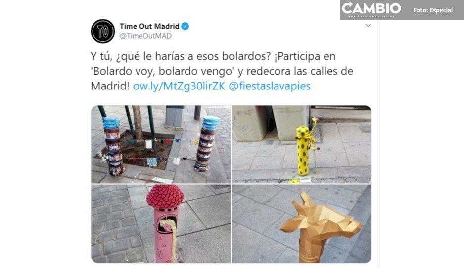 Colectivos poblanos se fusilan campaña  española para defender la bolardiza