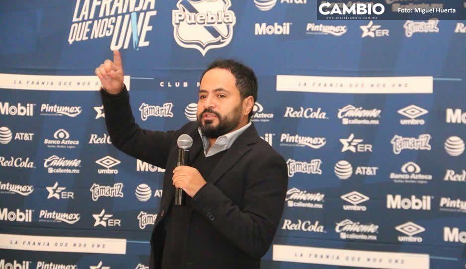 Directiva insiste: El Club Puebla no se vende