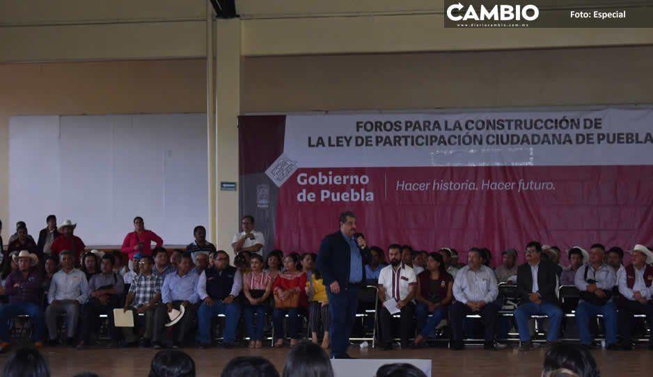 Concluye con éxito foro para crear Ley de Participación Ciudadana en Huauchinango