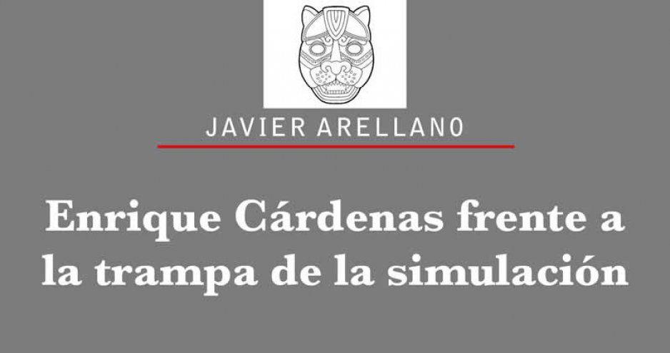 Enrique Cárdenas frente a la trampa de la simulación