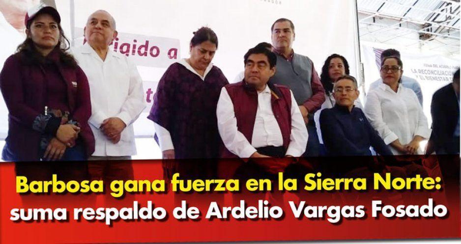 Funciona el rayo reconciliador: Ardelio Vargas va con Barbosa
