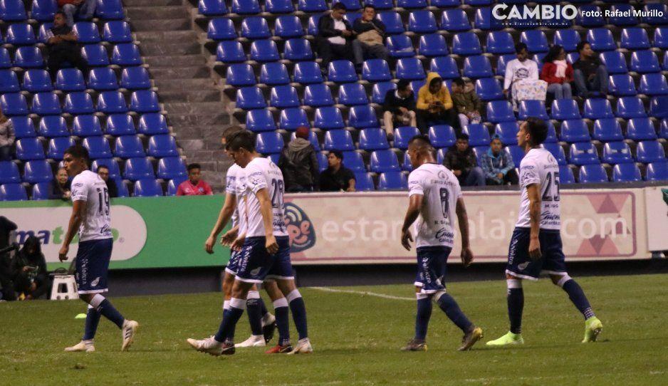 Club Puebla empata con Cimarrones  y se va abucheado de la Copa MX