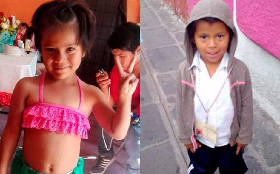 Buscan a las niñitas Monserrat y Yenifer, sus padres las perdieron en pleno Centro Histórico