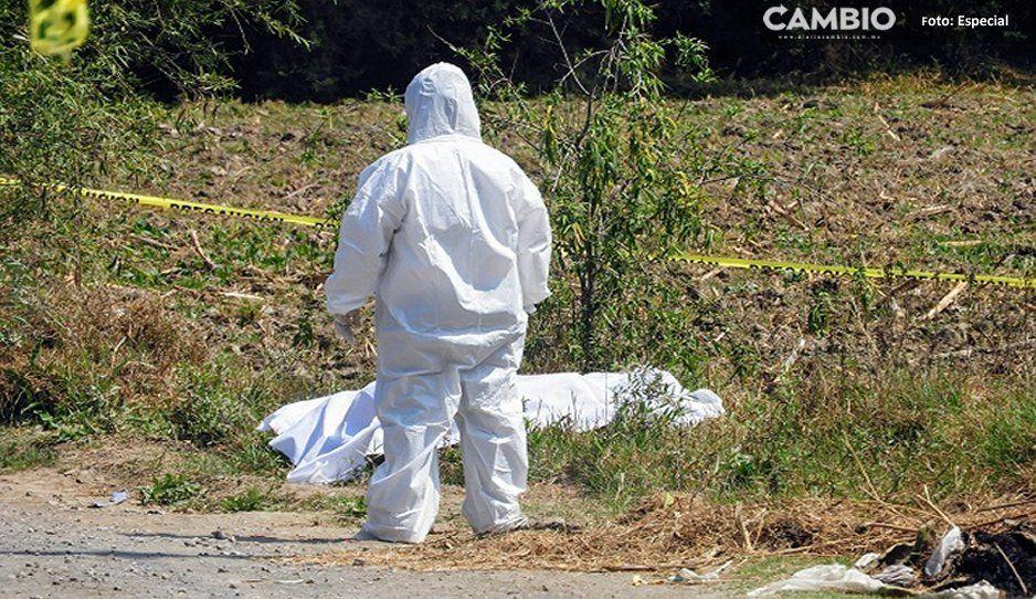 Encuentran cadáver en paraje de Huaquechula