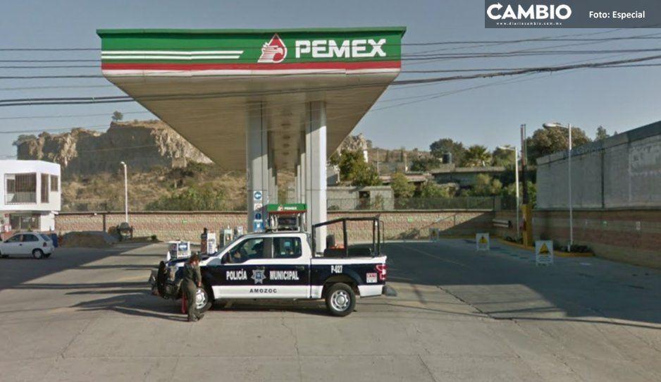 Ahora en Amalucan y Amozoc: cachan a 2 gasolineras que roban hasta medio litro