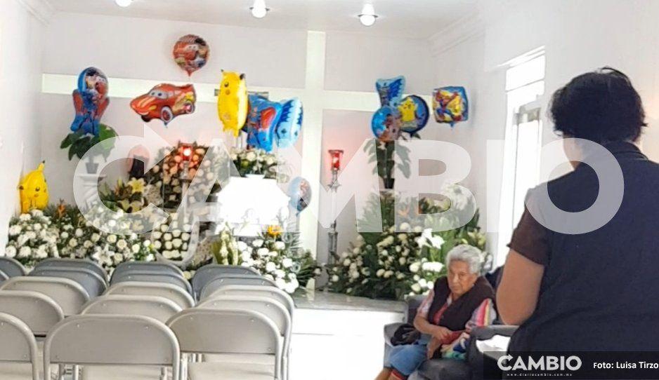 VIDEO: Velan los restos de Santi, el niño cuidacoches al que una bala perdida le arrebató la vida