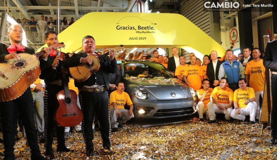 ¡Tranquilos todos! Volkswagen despide al Beetle pero garantiza empleos con nueva SUV
