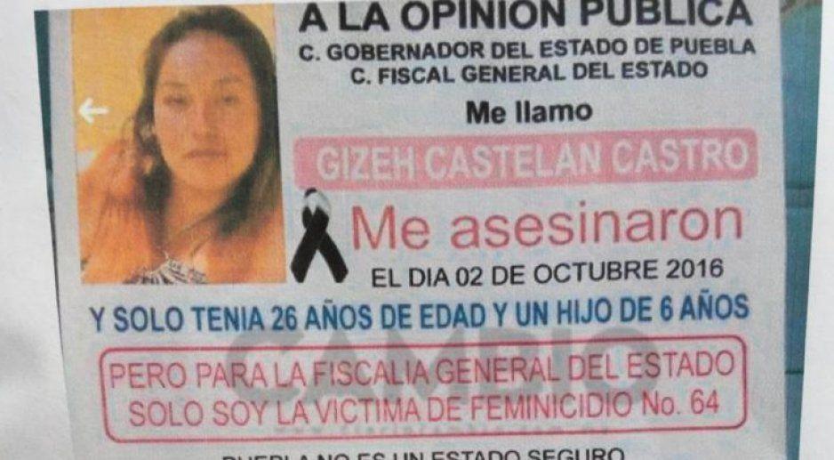 Cuatro años de calvario para familia Serrana, al no haber esclarecimiento el femenicidio de su hija Gizéh