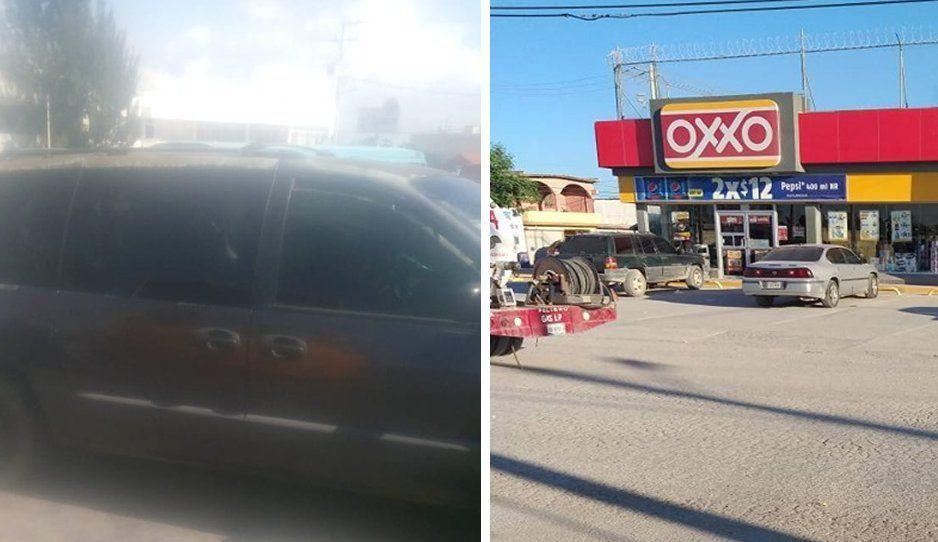 Detienen a sujeto que intentaba asaltar un Oxxo y que tripulaba camioneta robada en Texmelucan