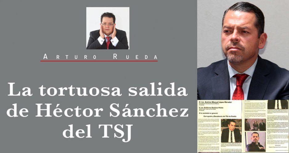La tortuosa salida de Héctor Sánchez del TSJ