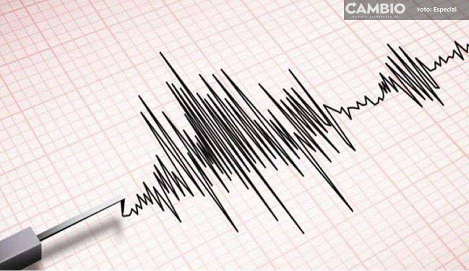 Sismo de magnitud 3.3 sacude a Acatlán de Osorio