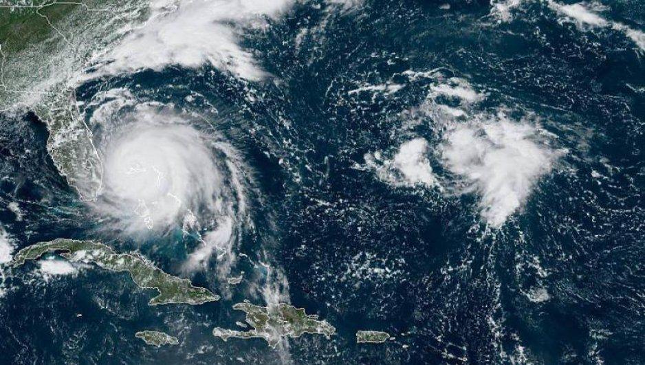 Cancelan vuelos en Estados Unidos por huracán Dorian