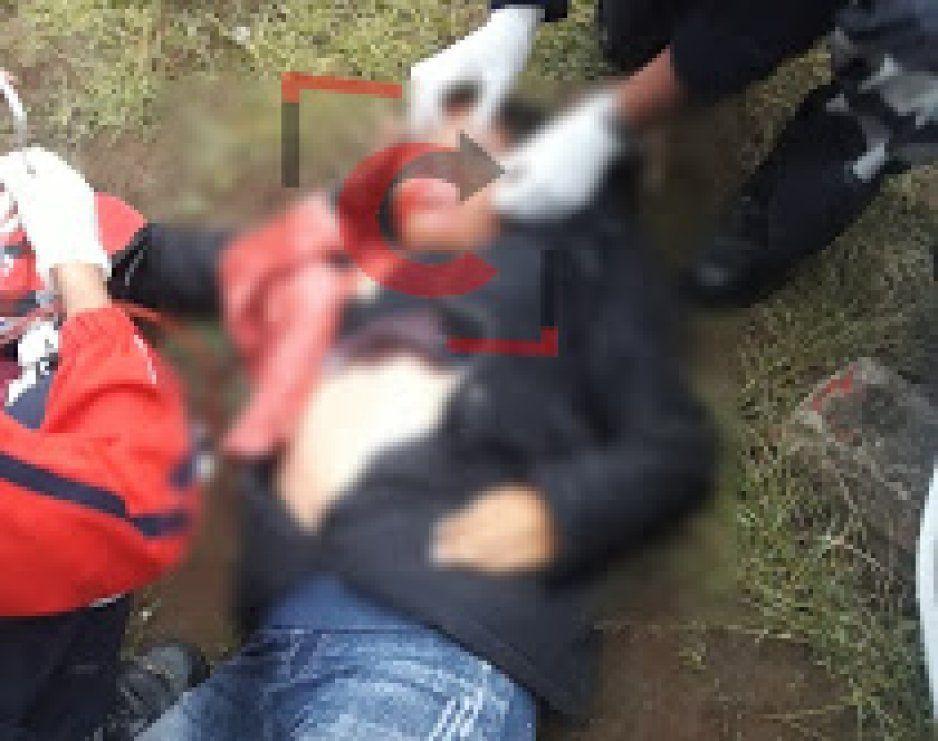 Muere joven mujer en el campo de la cumbre de Huachinango