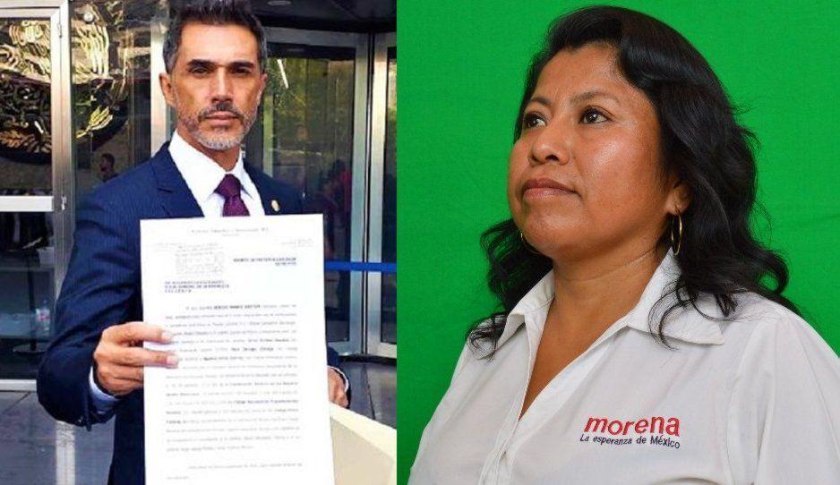 Sergio Mayer denuncia a diputada poblana Inés Parra por acusarlo de moches