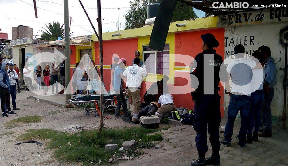 En intento de asalto le disparan, después muere por infarto en Tecamachalco
