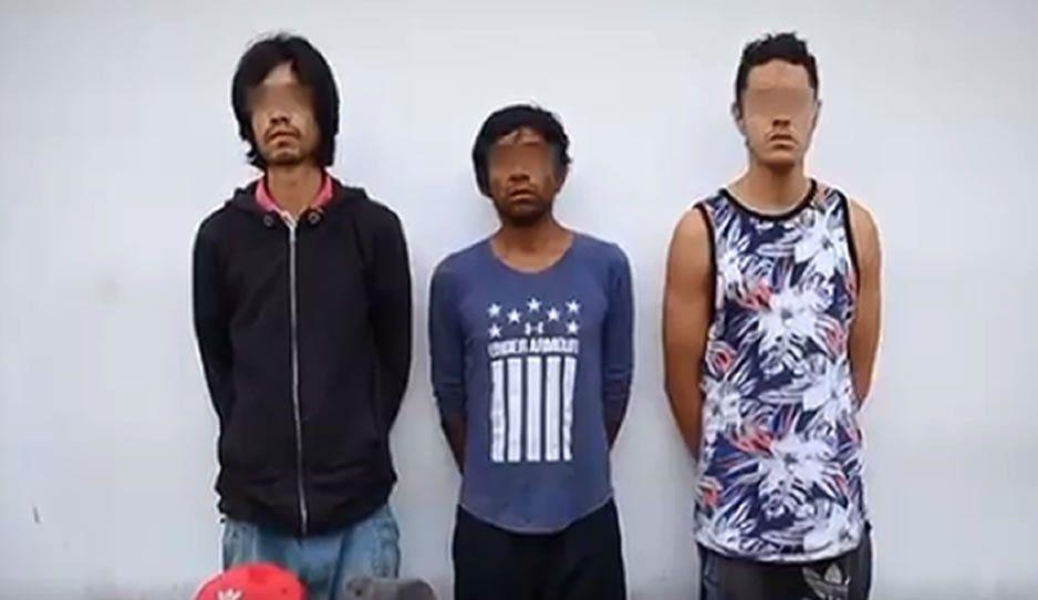 SSP detuvo a tres sujetos que se dedicaban al robo a transporte público usando una pistola de juguete