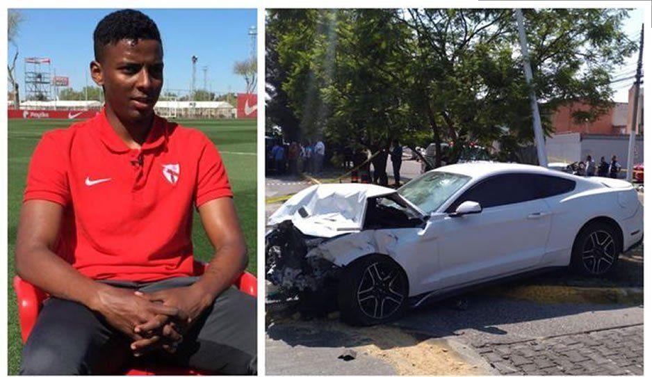 Sevilla rompe lazos con Joao Maleck tras el accidente que lo costó la vida a una pareja de recién casados