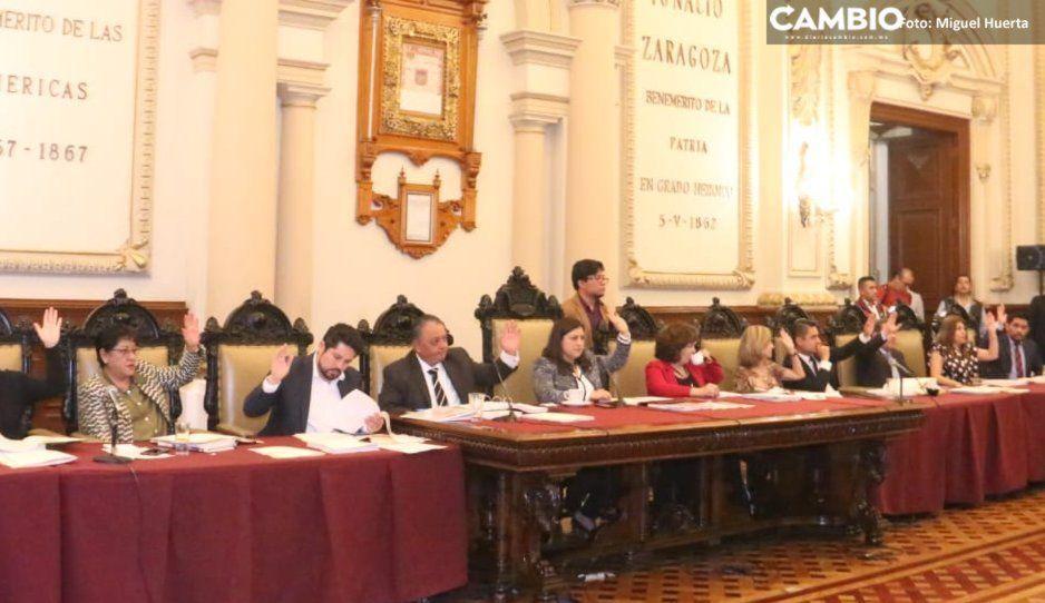 Con nueve votos en contra Cabildo aprueba estado financiero de octubre