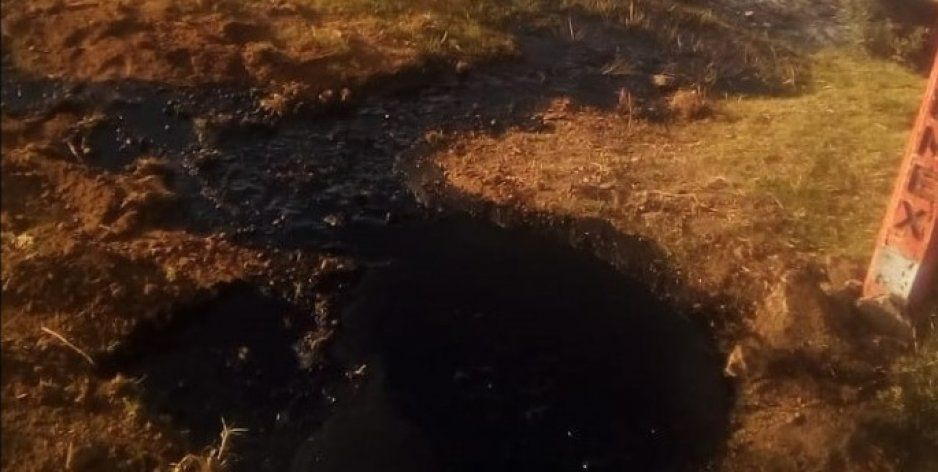 Derrame de combustible moviliza a cuerpos de emergencia en Esperanza