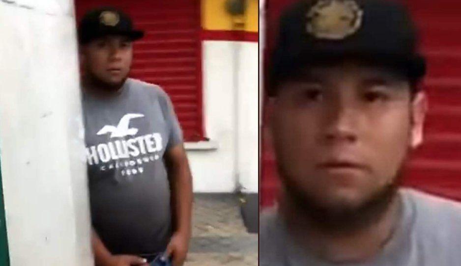 ¡Que se lo corten! Exhiben a depravado masturbándose en plena calle frente a niñitas y mujeres (VIDEO)