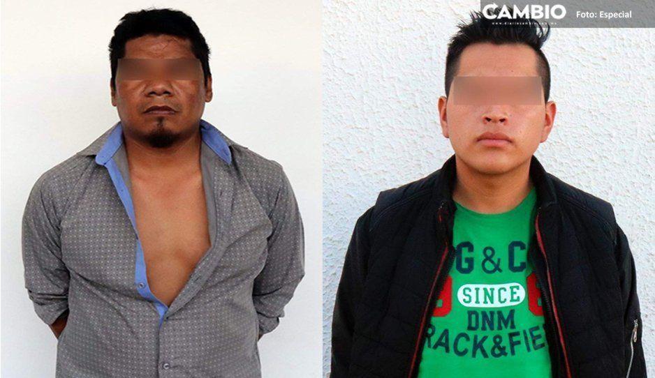 ¡Caen rateros! La SSP detuvo a dos presuntos asaltantes en Coronango