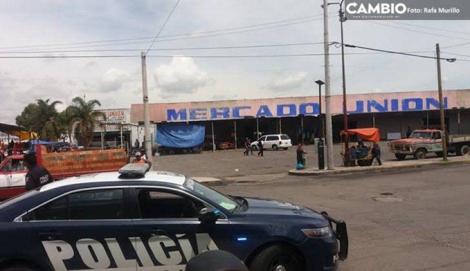 Robo de vehículo cargado de cigarros genera movilización policíaca en el mercado Unión; cuatro detenidos