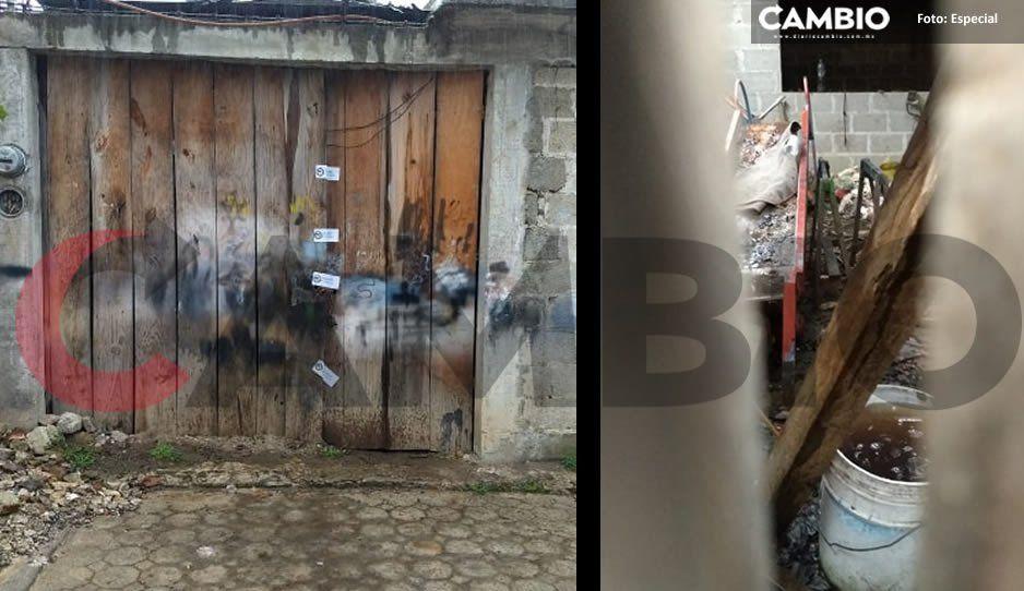 TERROR en Tlatlauquitepec: No era la casa de los espantos sino una fosa clandestina atiborrada de cuerpos