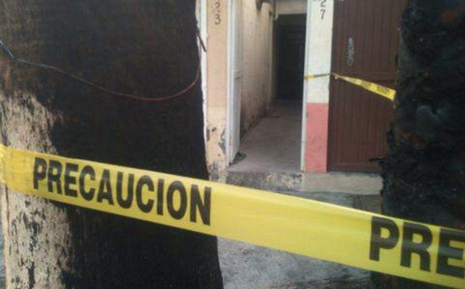 Cae barda de una construcción en La Resurrección y deja 2 menores lesionados