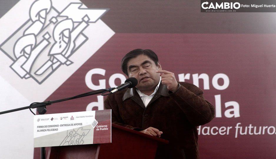 Barbosa envía al Congreso iniciativa para que FGE tenga más atribuciones