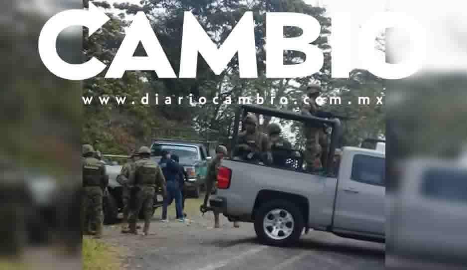 Emboscan a marinos en el tramo de Xicotepec a Villa Ávila Camacho