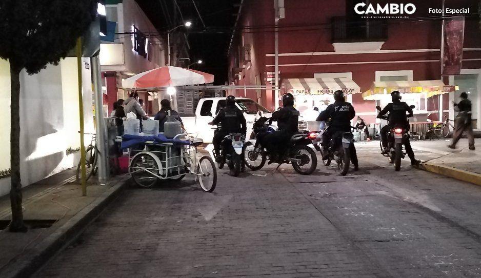 Detienen a líderes de ambulantes tras  agresiones a policías en Texmelucan