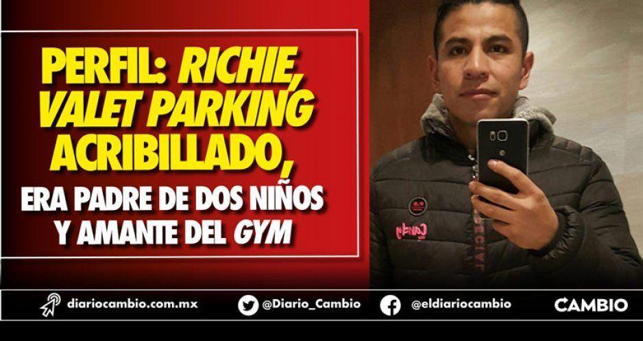 Perfil: Richie, valet parking acribillado, era padre de dos niños y amante del gym