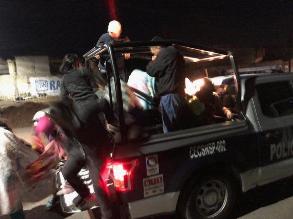 Desalojan fraccionamiento en Amozoc por fuerte fuga de gas LP (FOTOS y VIDEO)