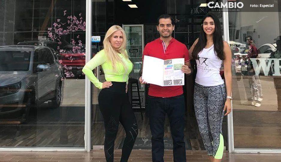 Rosendo Morales y Marco de los Santos promueven la activación física en Ocoyucan