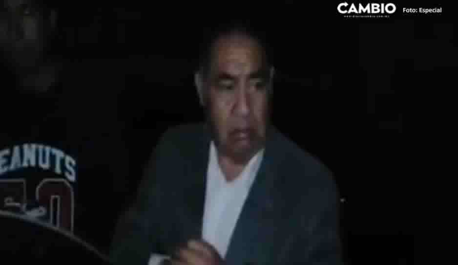 Retienen a edil de Amozoc y a cinco trabajadores por presunto robo de bomba de agua (VIDEO)