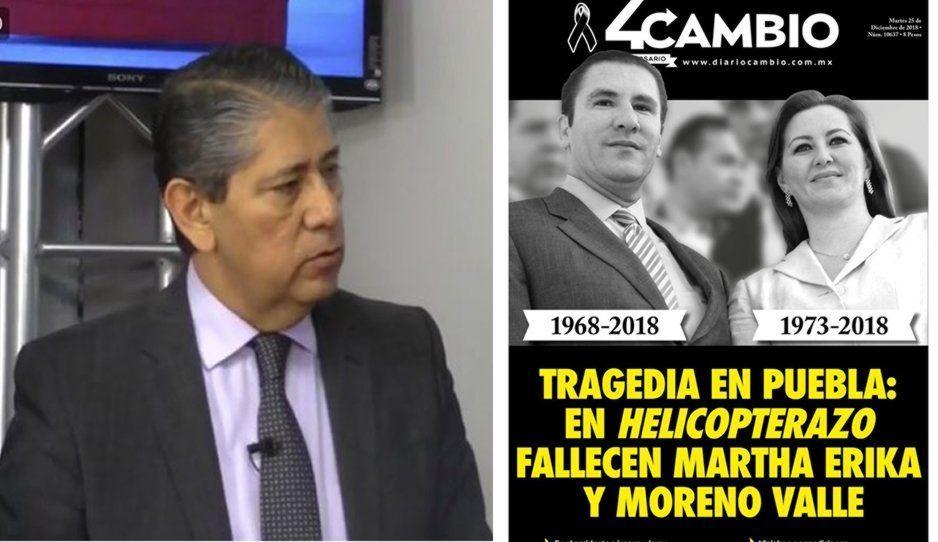 Sí se investiga como homicidio el helicopterazo de Martha Erika y Moreno Valle: Fiscal Higuera Bernal