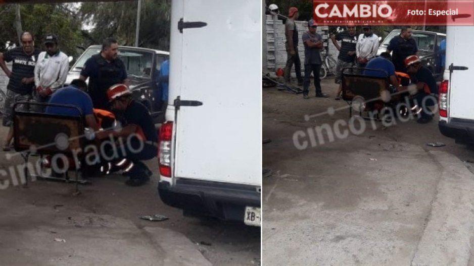 Muere transportista tras ser asaltado en la Federal Puebla-Tehuacán