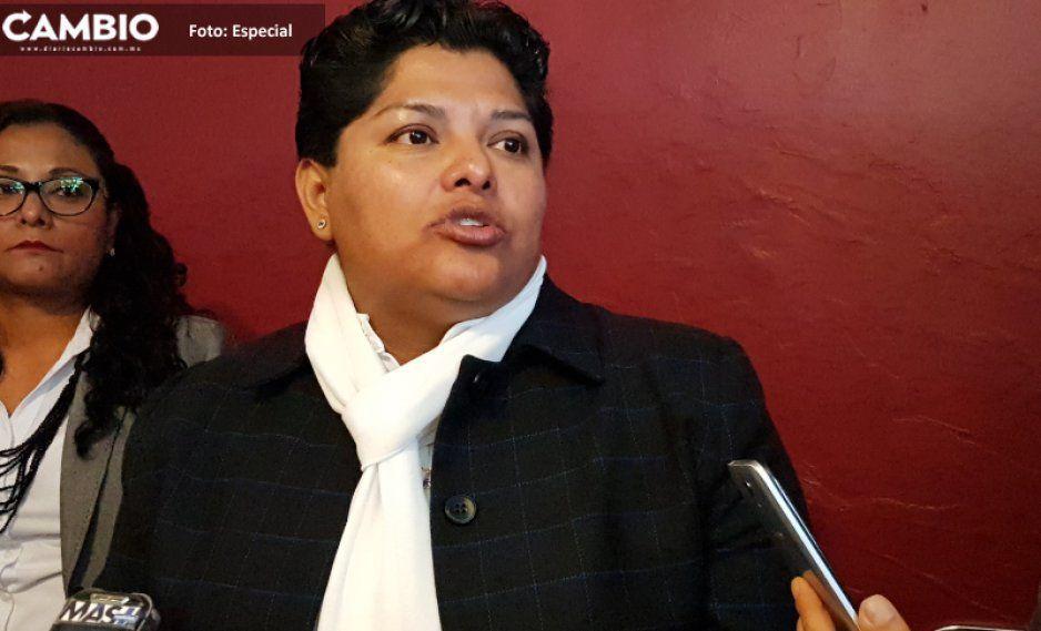 Alcaldesa de San Andrés  jala orejas a Biestro y JJ