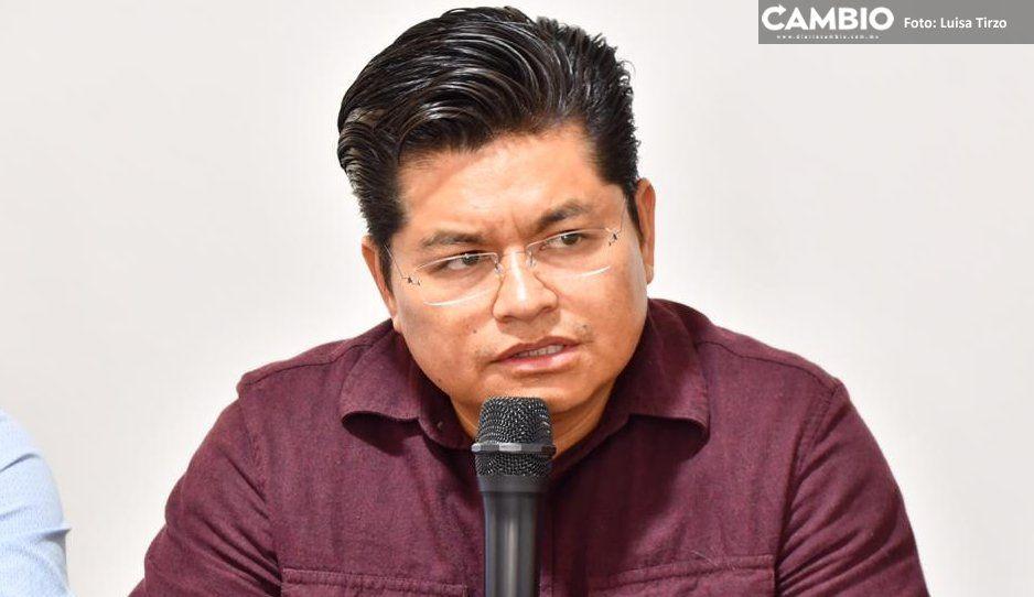Alcalde de Coronango dice que pidió permiso para acudir al mitin de Barbosa